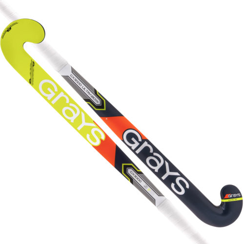 Grays GX 3000 Ultrabow Composite Hockey Stick - Navy\Fluo