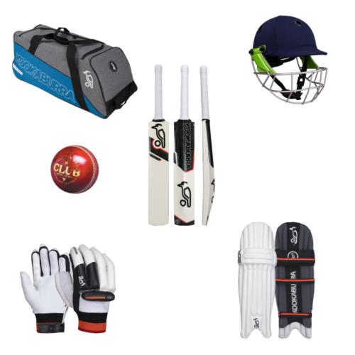 Kookaburra Junior Cricket Bat and Equipment Pack