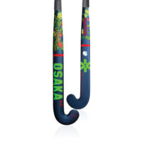 Osaka Concept Series Flower Power Navy Mid Bow Hockey stick
