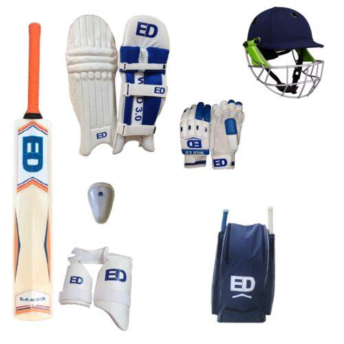 Senior Cricket Bat and Equipment Pack