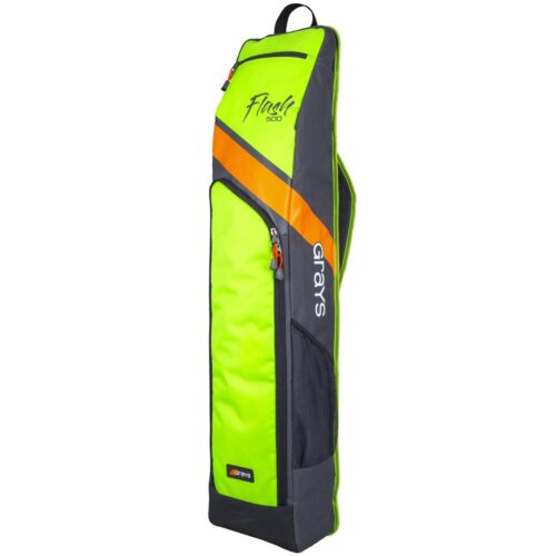 Grays Flash 500 Hockey Stick and Kit Bag - Charcoal Yellow