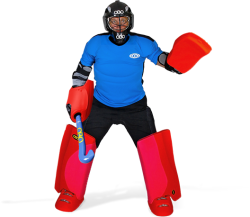 HOCKEY GOAL KEEPING