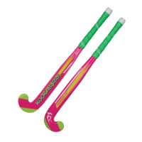 Kookaburra Neon Pink Junior Wooden Hockey Stick