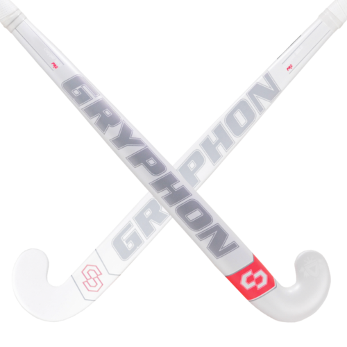 Gryphon Chrome Solo Pro ERS White Hockey Stick
