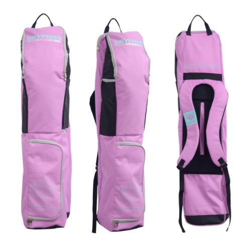 Gryphon Thin Finn Mauve Hockey Stick and Kit Bag