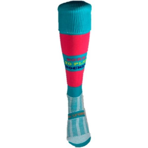 Born To Play Hockey Fun Socks