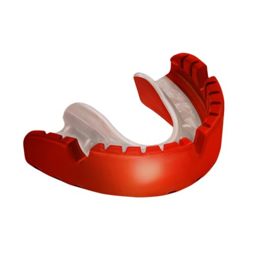 OPRO Ortho Gold Gum Shield for fixed Braces - Red/Pearl