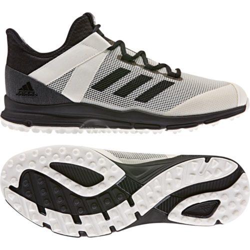 Adidas Zone Dox White Hockey Shoes