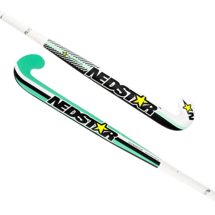 Nedstar Superstar Mint Junior Hockey Stick