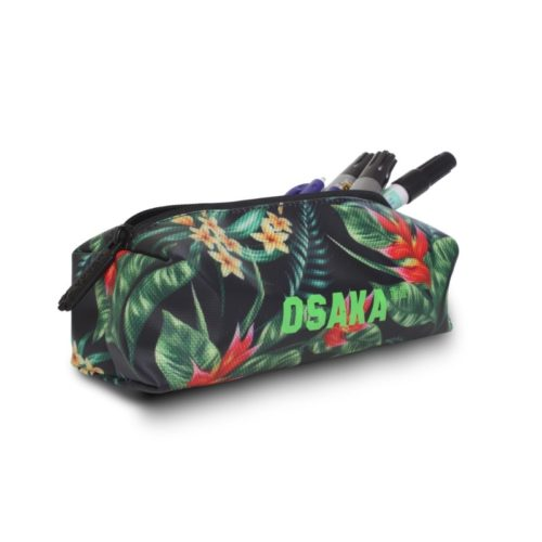 Osaka Pencil Case Navy Flowers