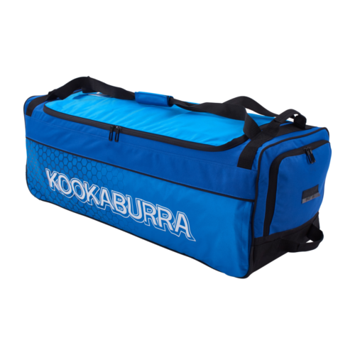 Kookaburra Pro 3.0 Blue Wheelie Cricket Bag