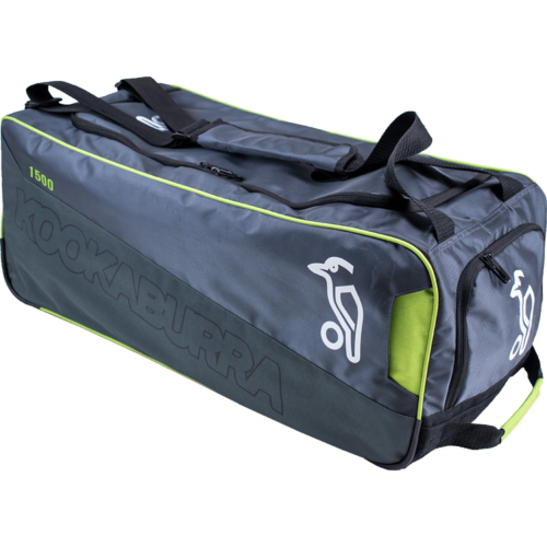 Kookaburra 1500 Grey Wheelie Cricket Bag