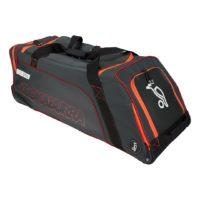 Kookaburra Pro 2750 Wheelie Cricket Bag - Grey/Orange