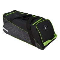 Kookaburra Pro 1500 Wheelie Cricket Bag - Black\Green