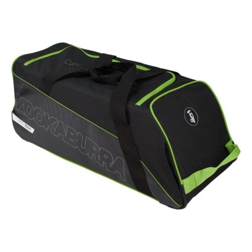Kookaburra Pro 1500 Wheelie Cricket Bag - Black\Green