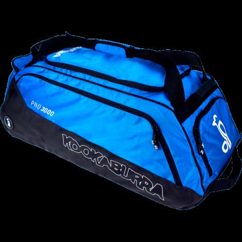 Kookaburra Pro 3000 Blue Wheelie Cricket Bag