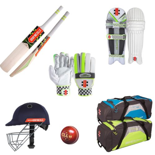 Gray Nicolls Junior Cricket Bat and Equipment Pack