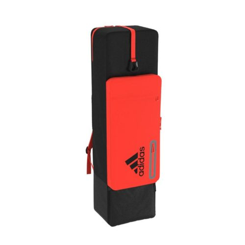 Adidas HY Red Black Hockey Stick and Kit Bag