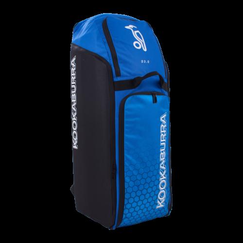 Kookaburra Pro D3 Cricket Duffle Bag (Blue Cyan)