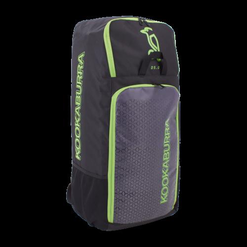 Kookaburra D5 Cricket Duffle Bag (Black Lime)