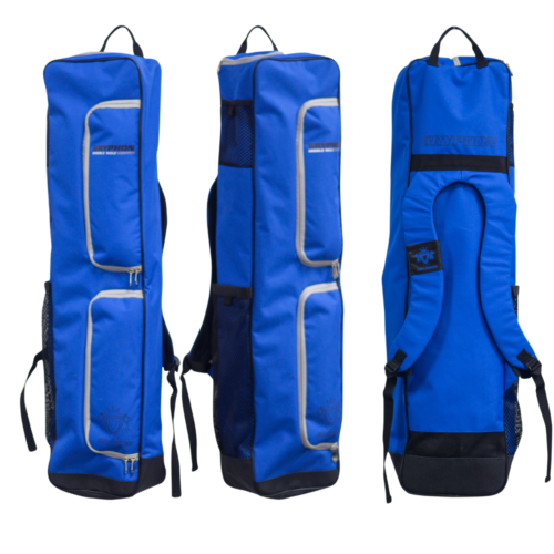 Gryphon Middle Mike Blue Hockey Stick and Kit Bag
