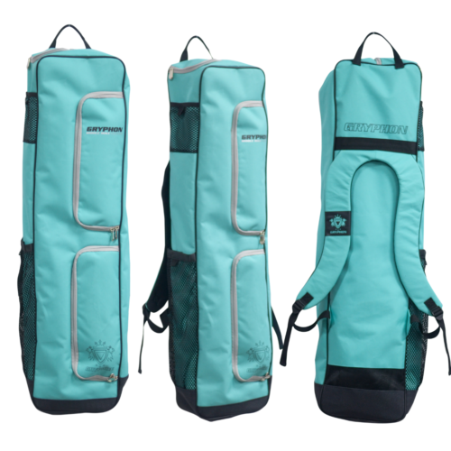 Gryphon Middle Mike Teal Hockey Stick and Kit Bag