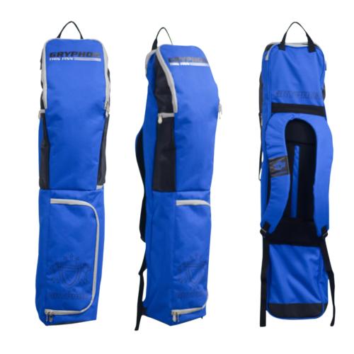 Gryphon Thin Finn Blue Hockey Stick and Kit Bag