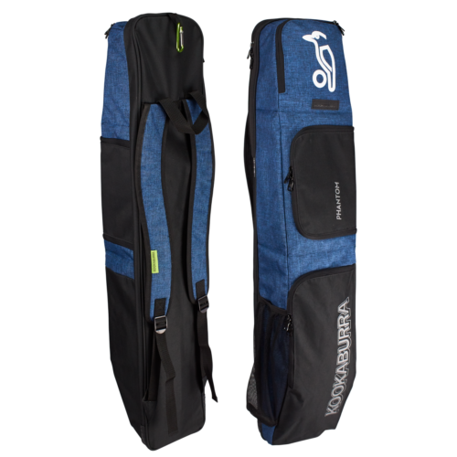 Kookaburra Phantom Navy Hockey Stick and Kit Bag