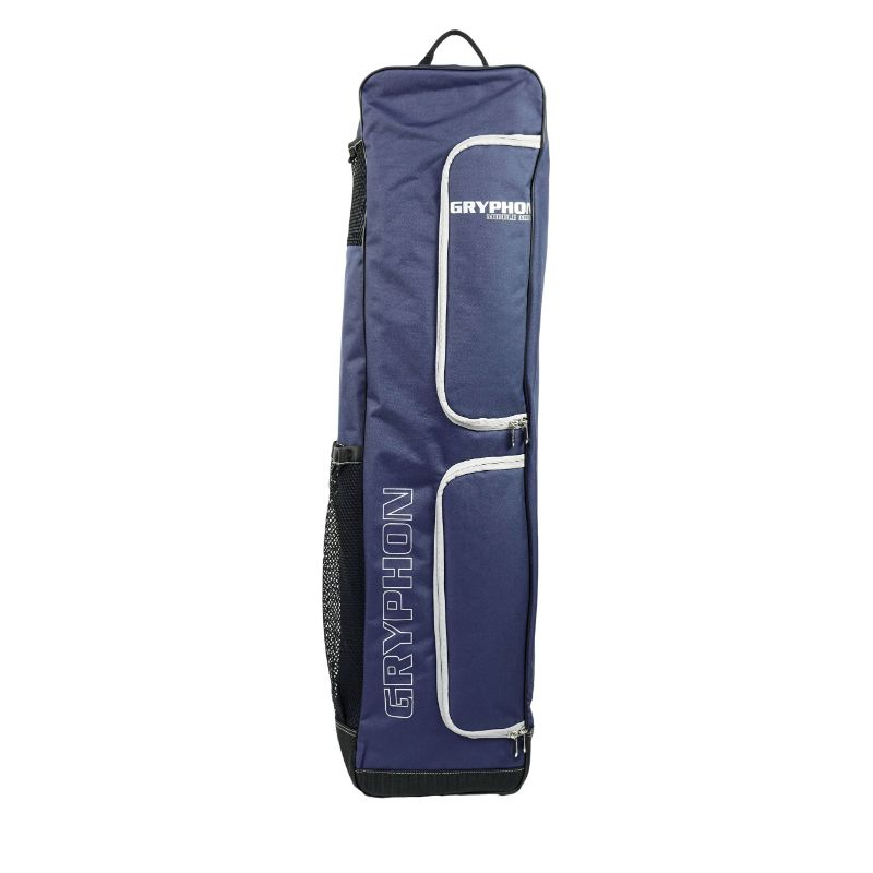 Gryphon Middle Mike Navy Hockey Stick and Kit Bag