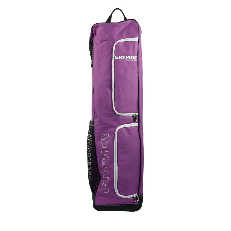 Gryphon Middle Mike Purple Hockey Stick and Kit Bag