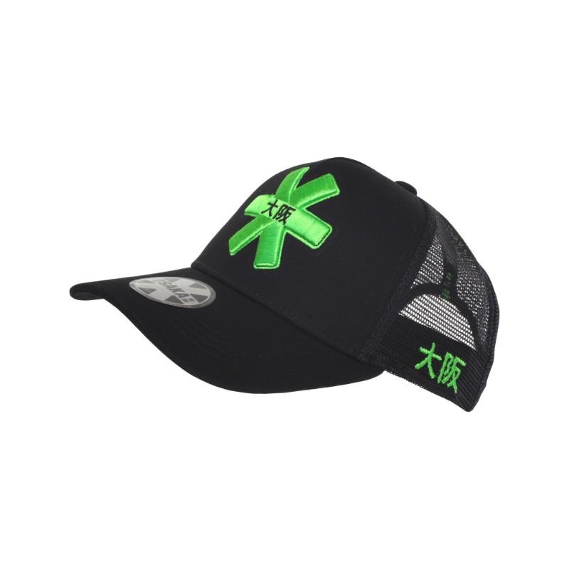 Osaka Black Trucker Cap