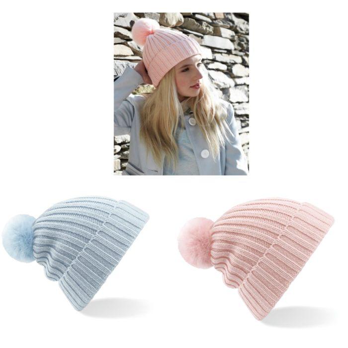 Faux Fur Bobble Hat