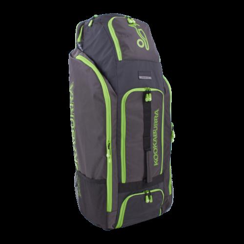 Kookaburra Pro 1.0 Cricket Duffle Bag (Black Lime)