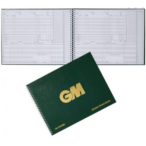 Gunn and Moore 100 innings Cricket Scorebook