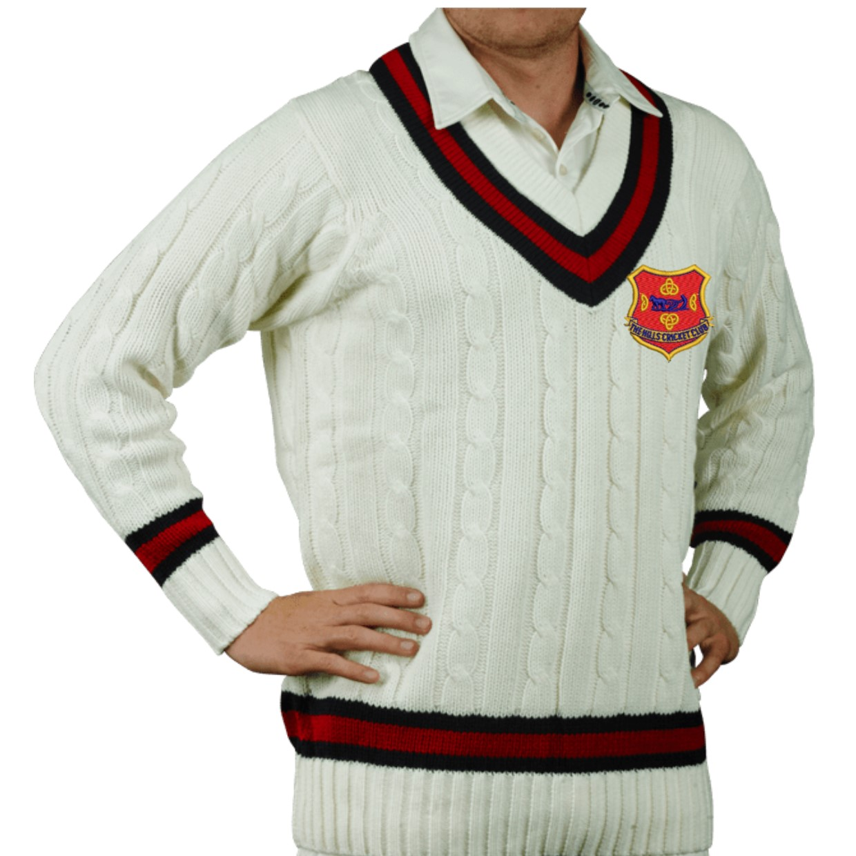 The Hills Cricket Club Sweater