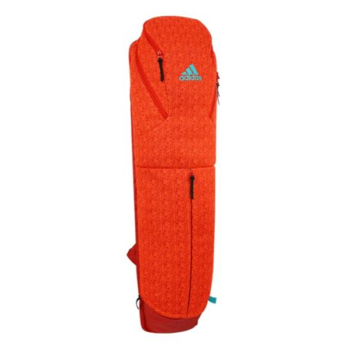 Adidas H5 Medium Red Hockey Stick and Kit Bag