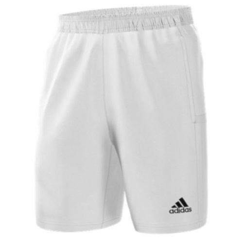 Adidas T19 White Woven Shorts