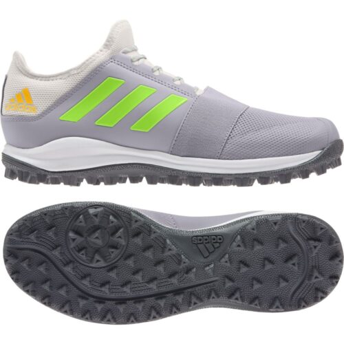 Adidas Divox Grey Hockey Shoes