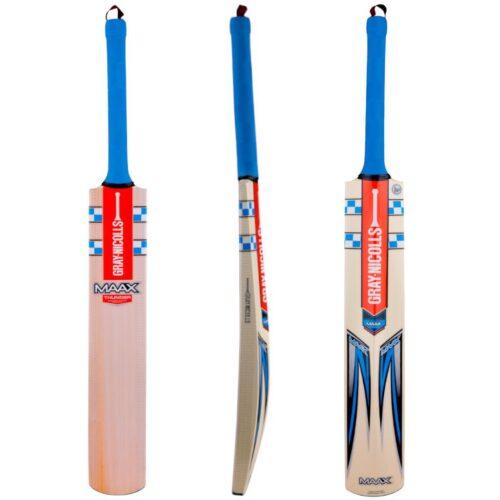 Gray Nicolls Blue MAAX Thunder Junior Cricket Bat