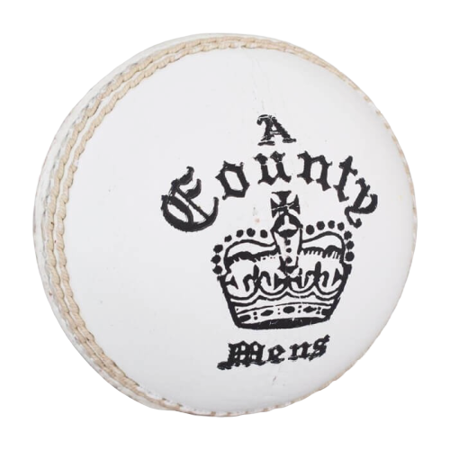 Readers County Crown Red/White Cricket Ball