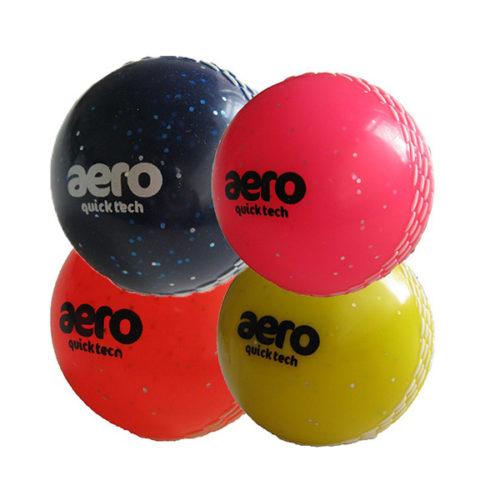 Aero Quick Tech Glitter Cricket Windball