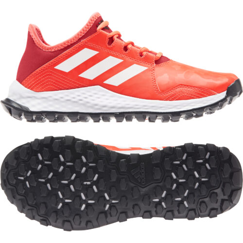 Adidas Youngstar Red Hockey Shoes