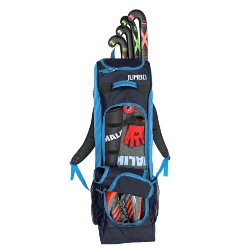 Malik Jumbo Blue Hockey Bag