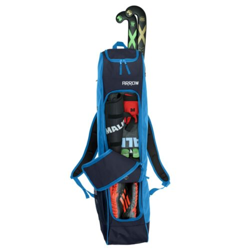 Malik Arrow Blue Hockey Bag