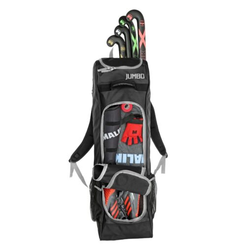 Malik Jumbo Black Hockey Bag