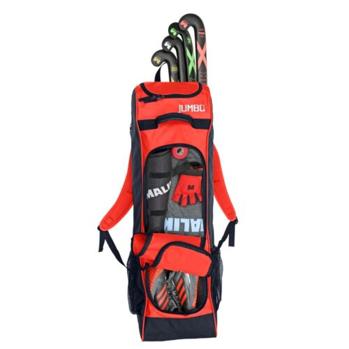 Malik Jumbo Coral Hockey Bag