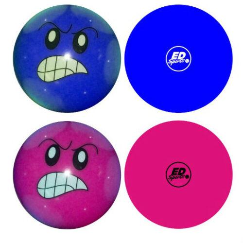 Angry Face Hockey Ball