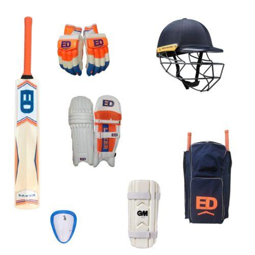 Junior Cricket Bat & Equipment Pack