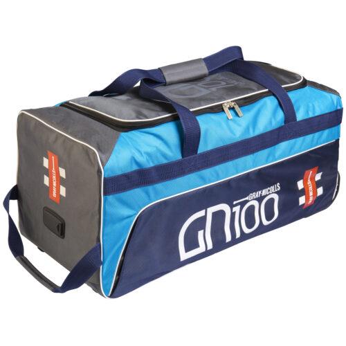 Gray Nicolls GN 100 Blue Wheelie Cricket Bag