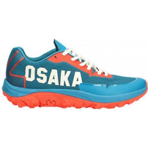 Osaka KAI Hockey Shoes - French Navy\Oxy Fire